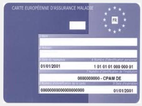 Carte Europeenne Dassurance Maladie Ceam.Lettre De Demande De Carte Europeenne D Assurance Maladie Ceam